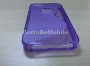 iPhone 5 Case TPU Purple Dock