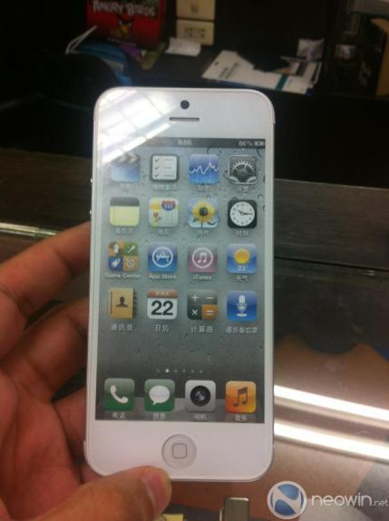 iPhone 5 model prototype