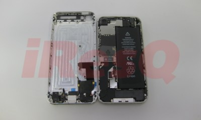iPhone 5 parts assembled