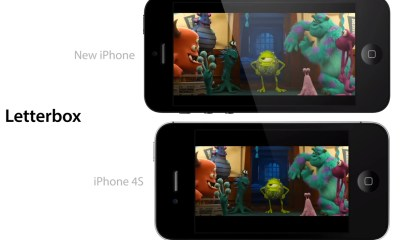 iPhone 5 screen comparison video