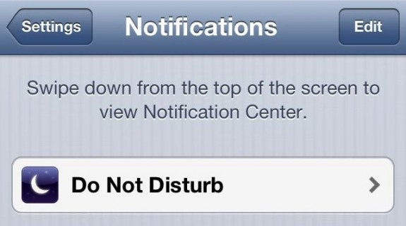 How to Use Do Not Disturb on iOS 6 - 2