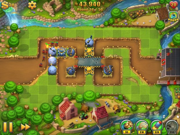 fieldrunners 2 hd trenches