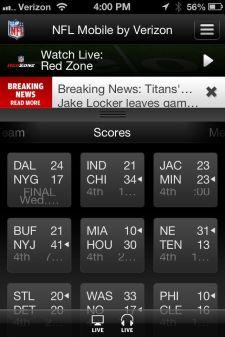NFL Mobile 12 - 2