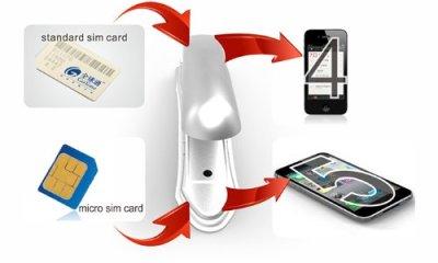 Nano SIM cutter iPhone 5