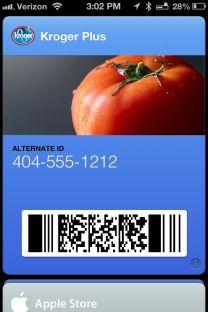 PassBook on iOS 6 - 3