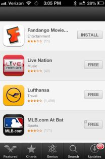 PassBook Apps.