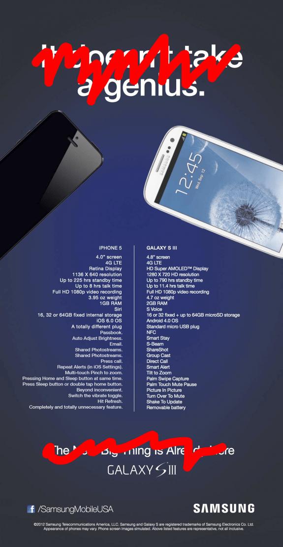 Real Samsung Ad