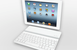 ipad logitech keyboard white