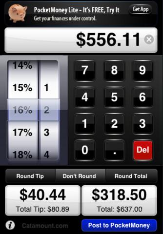 CheckPlease Lite iPhone app