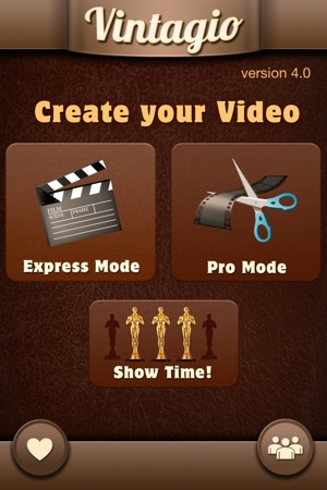 Vintagio vintage video app for iphone