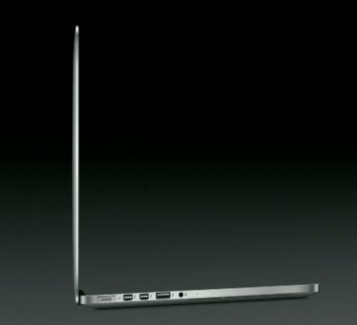 13-inch MacBook Pro with Retina Display profile