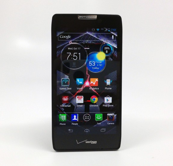 Droid RAZR HD MAXX Display