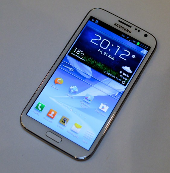 Galaxy Note 2 Display