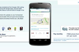 LG Nexus 4 Carphone Warehouse