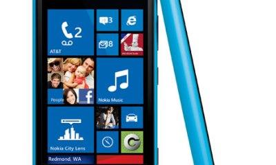 Nokia Lumia 920 cyan