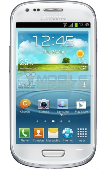Samsung Galaxy S III Mini leak