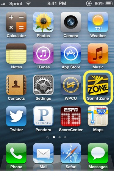 Sprint Zone