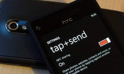 Windows Phone 8 and Android NFC