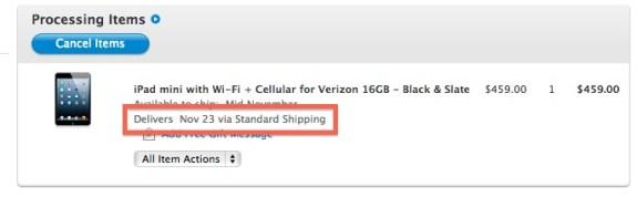 iPad Mini - Apple Black Friday