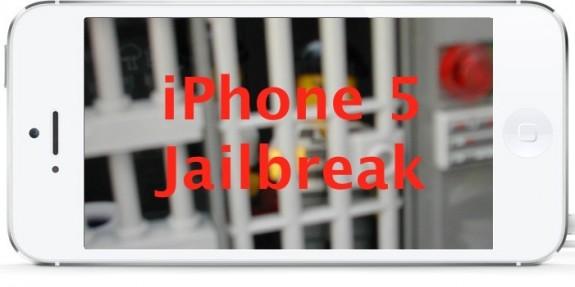 iPhone 5 jailbreak