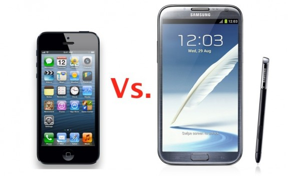 iPhone-5-vs-Galaxy-Note-2-575x351
