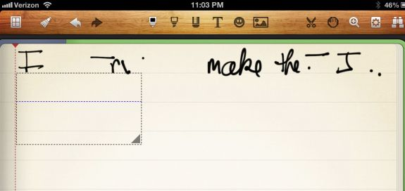 jaja stylus and noteshelf