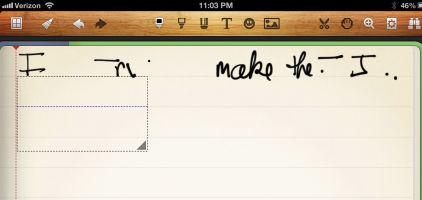jaja stylus and noteshelf