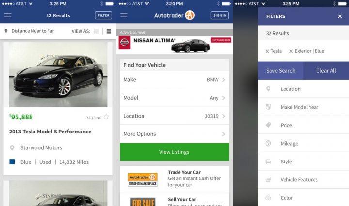 AutoTrader Car Buying App