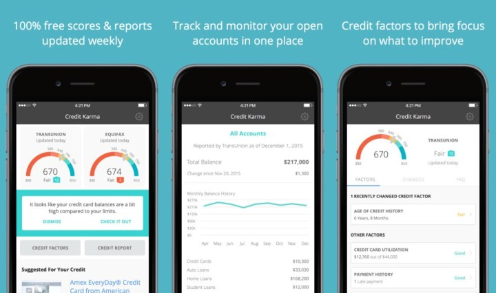 Credit Karma Credit Score App