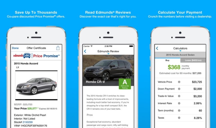 Edmunds Car Buying App