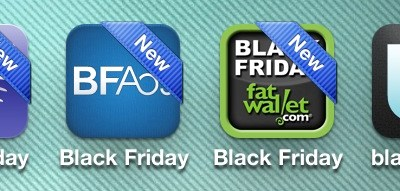 Black Friday Apps 2012 iPhone Android