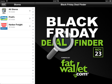 Black friday apps