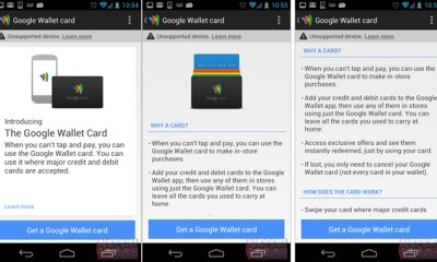Google Wallet Card