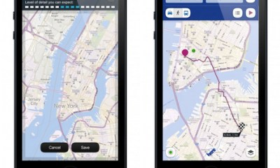 Here Maps on iPhone