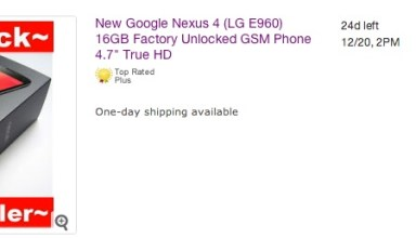 LG Nexus 4 eBay