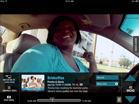 Live TV on the iPad Cable