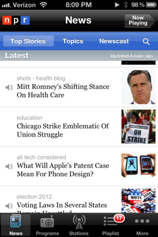 NPR Election coverage