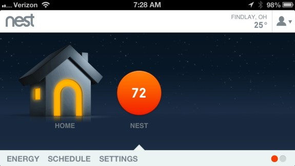 Nest Review - iPhone App1