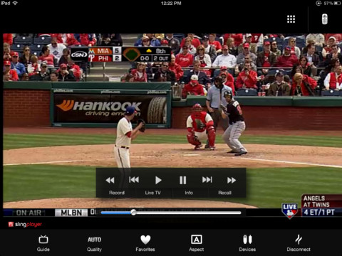 Slingplayer for iPad