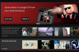 YouTube Google TV streaming