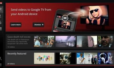 YouTube Google TV streaming