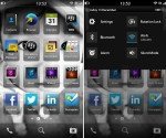 BlackBerry 10 leak homescreen