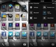BlackBerry 10 leak homescreen