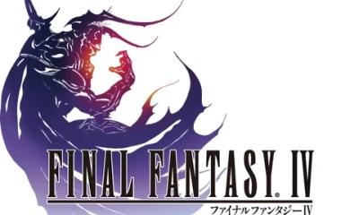 Final Fantasy IV logo
