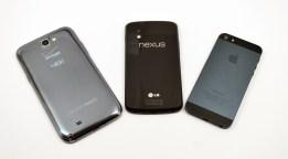 Galaxy Note 2 vs iPhone 5 vs Nexus 4 - 06