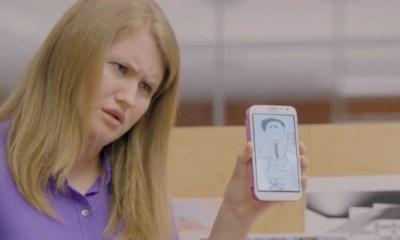 Galaxy Note II ad