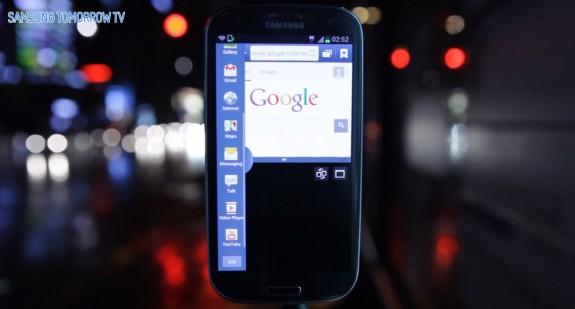 Galaxy S III Jelly Bean Upgrade Android 4.1.2 Multi Window