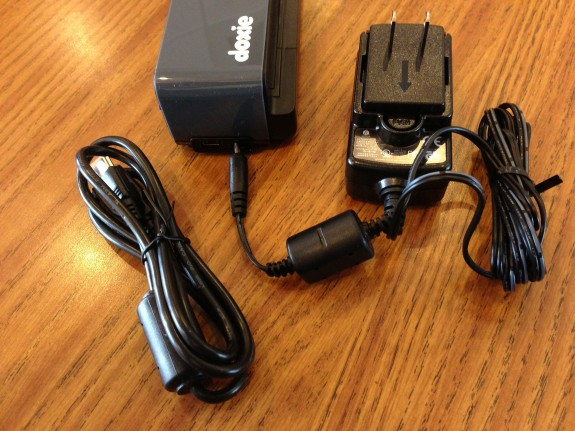 doxie one power adapter and USB cord