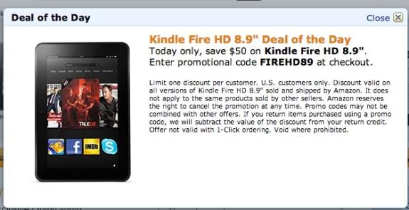 Kindle Fire HD deals