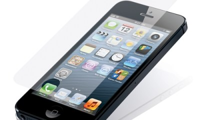 Shatterproof iPhone 5 screen protector